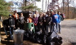 CTC & Starr Hill cleanup at Beaver Creek Dam